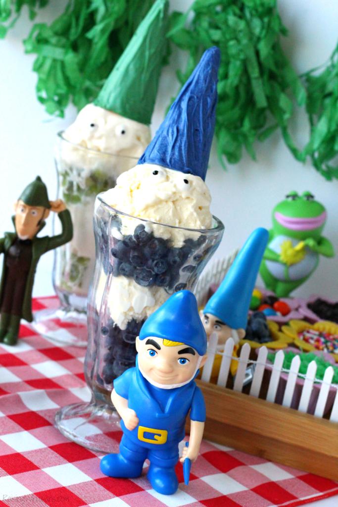 Gnome ice cream party ideas