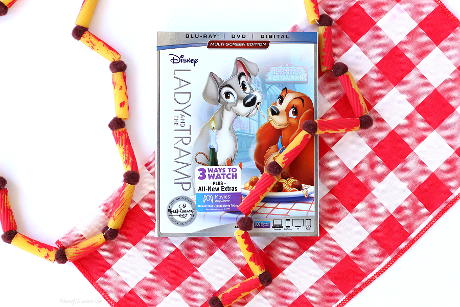 Lady and the tramp kids craft