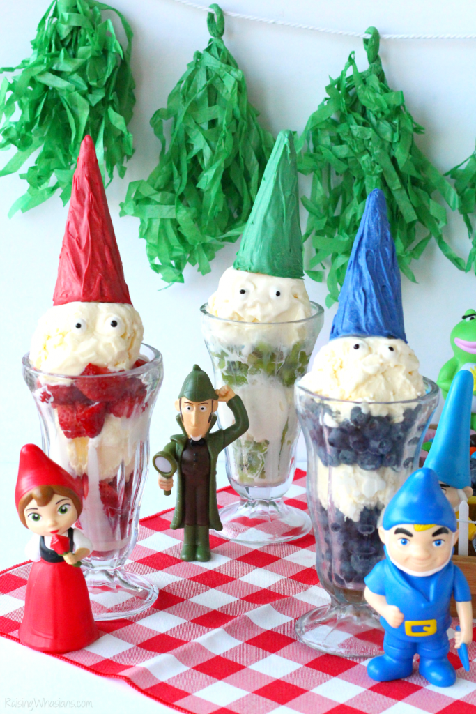 Sherlock gnomes ice cream party