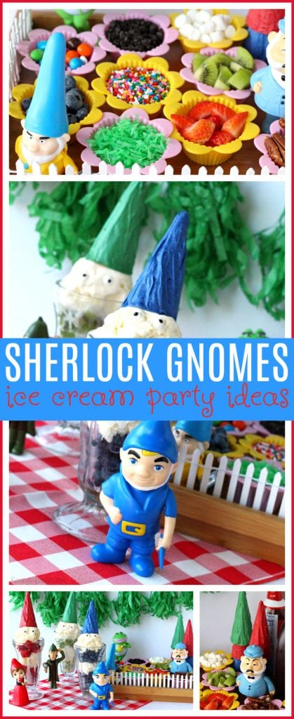 Sherlock gnomes party