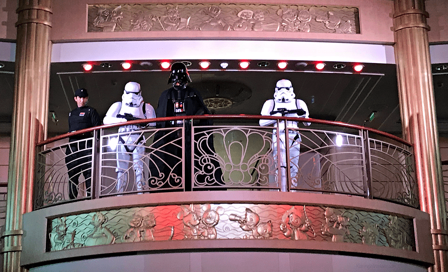 Star wars day at sea activities