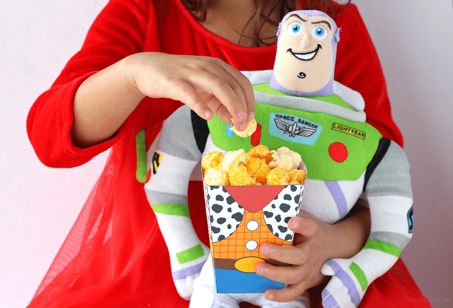 Toy story popcorn box printable