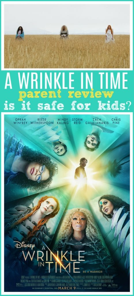 A wrinkle in time movie parent review