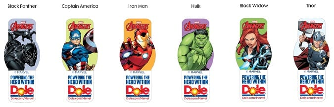 Avengers healthy recipes