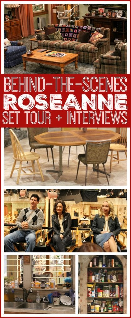 Behind the scenes Roseanne