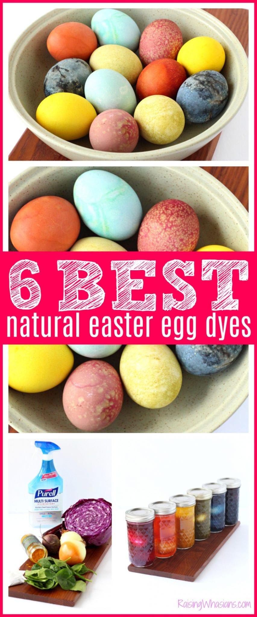 Best all natural egg dyes