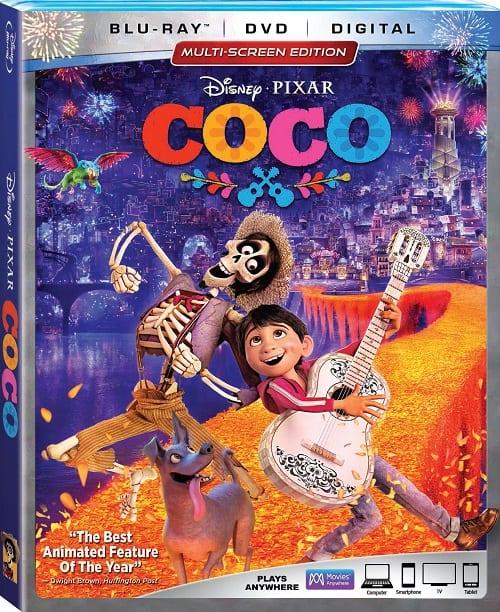 Disney pixar coco bluray review