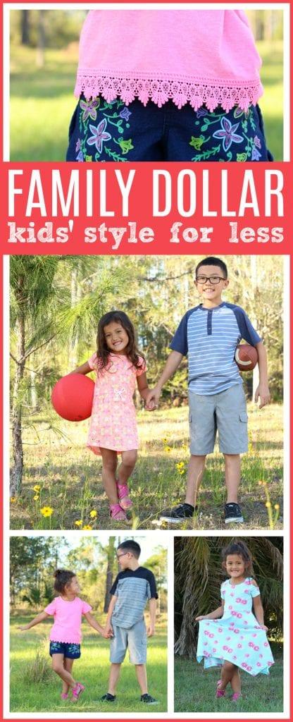 Family dollar kids fashion for less