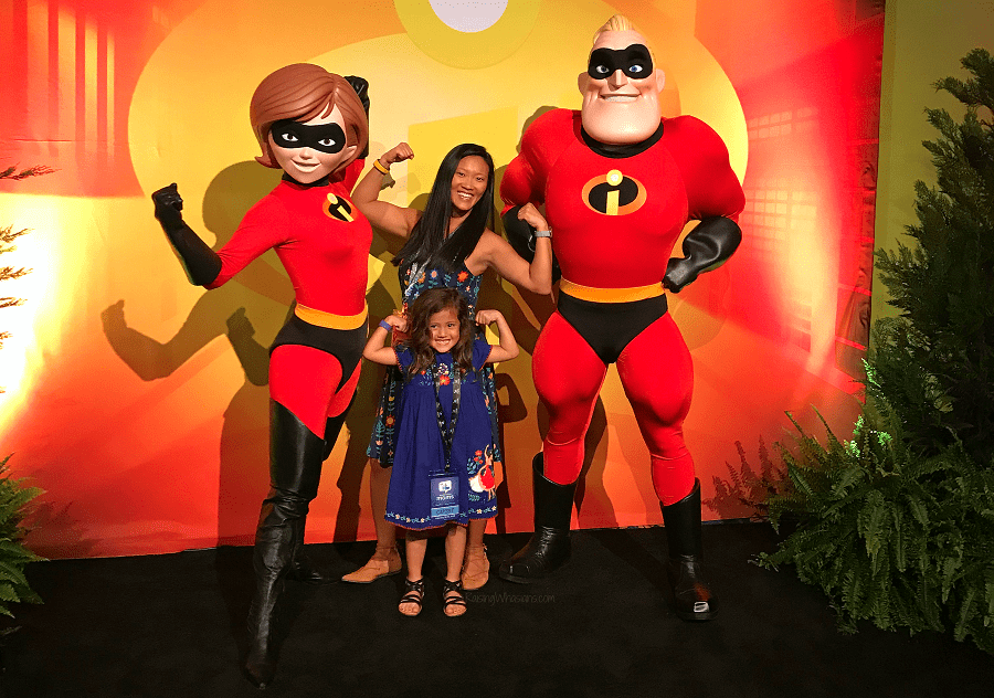 Pixar incredibles 2 event