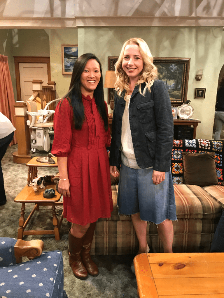 Roseanne cast interview Lecy Goranson