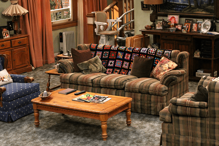 Roseanne set photo tour