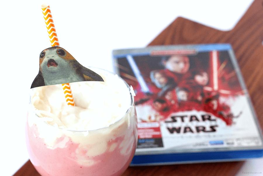Star wars the last jedi smoothie
