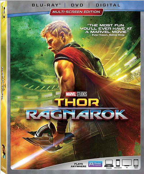 Thor Ragnarok blu-ray details