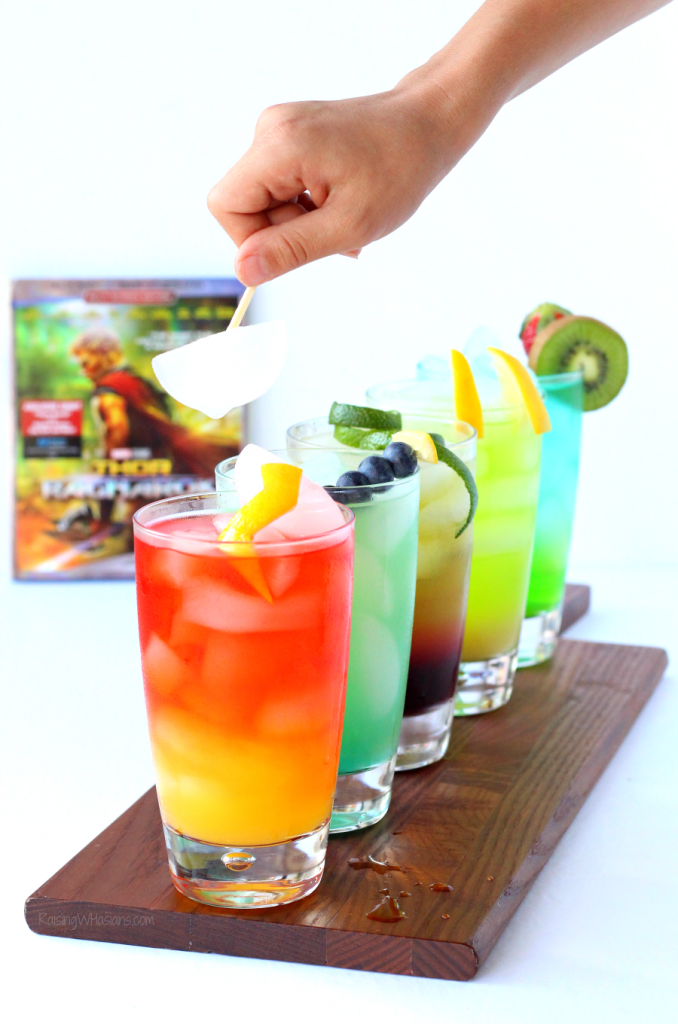 Kids Cocktail Party Ideas Part - 30: Thor Party Drink Ideas For Kids