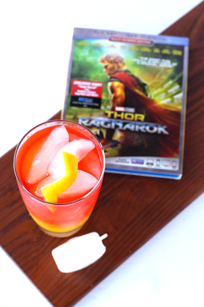 Thor Ragnarok drink idea