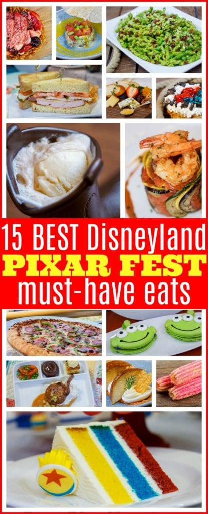 Best Disneyland Pixar fest eats