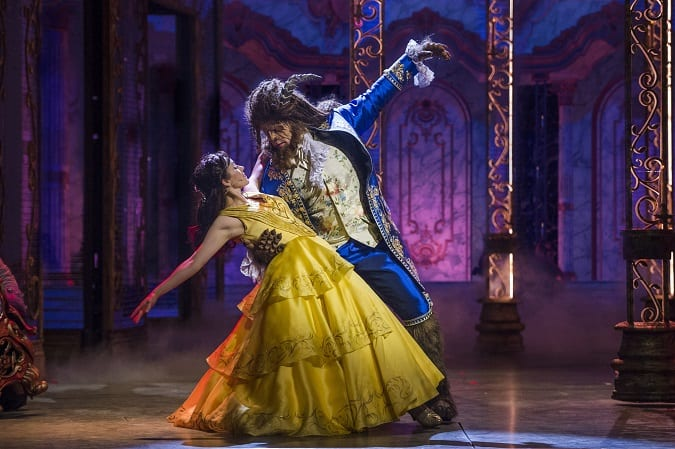 Disney cruise beauty and the beast show tips