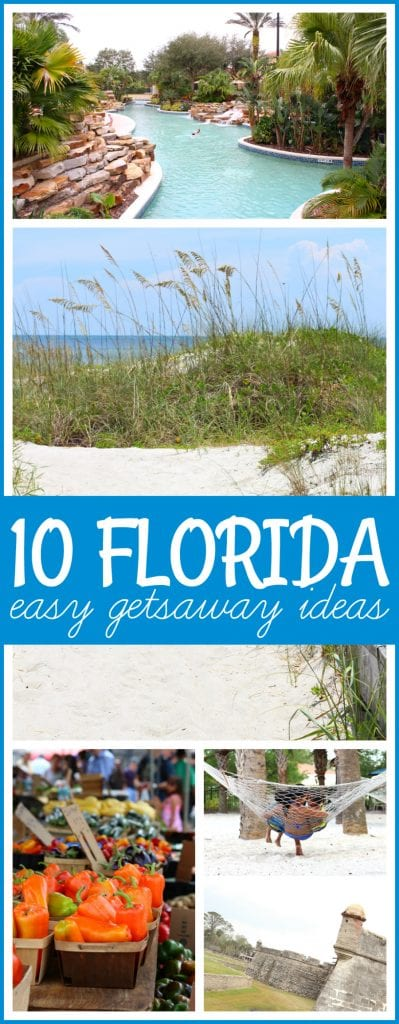 Florida getaway ideas for families