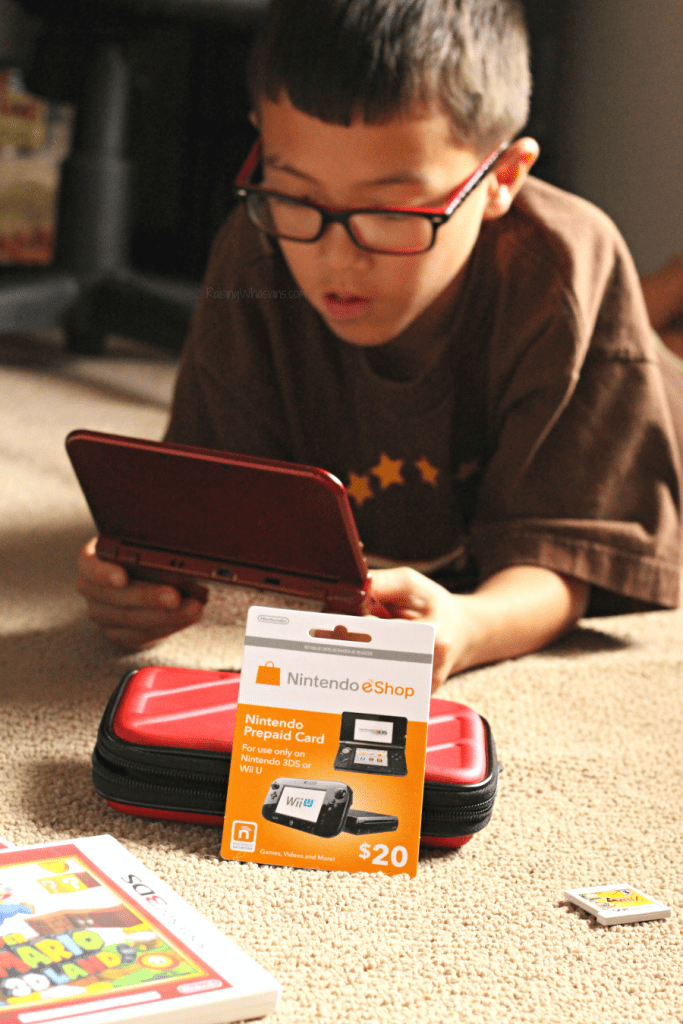 How to use Nintendo eshop gift card
