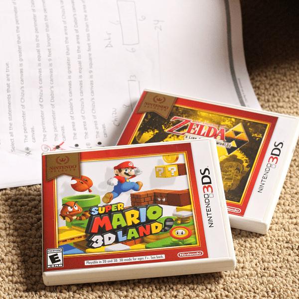Nintendo selects giveaway