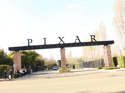 Pixar animation studios photo tour