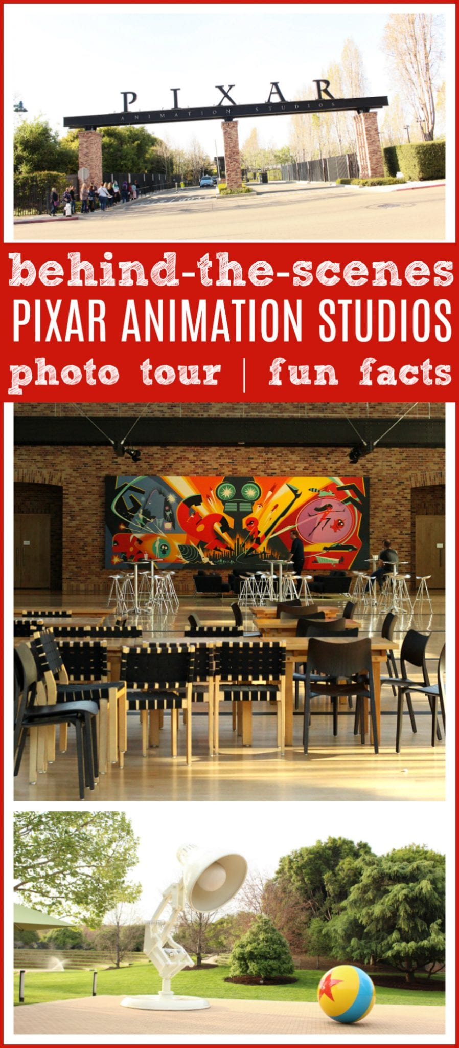 Pixar animation studios visit tips