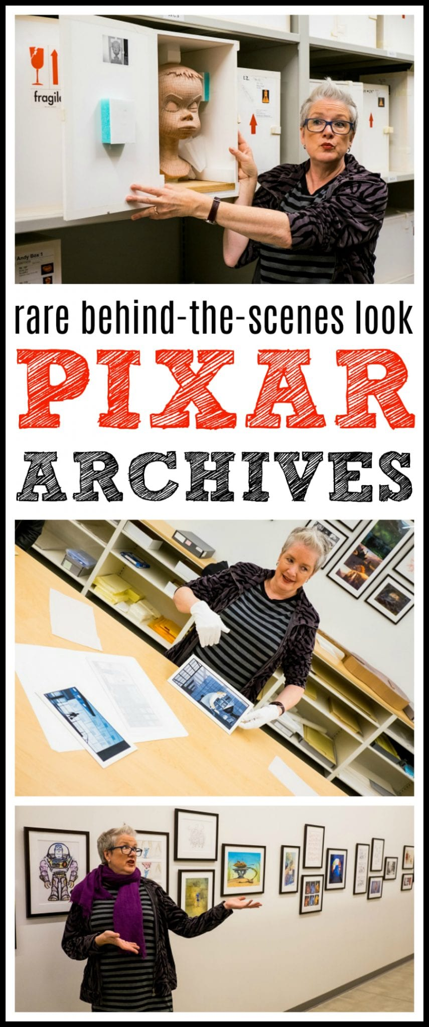 Pixar archives fun facts