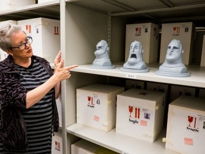 Pixar archives tour