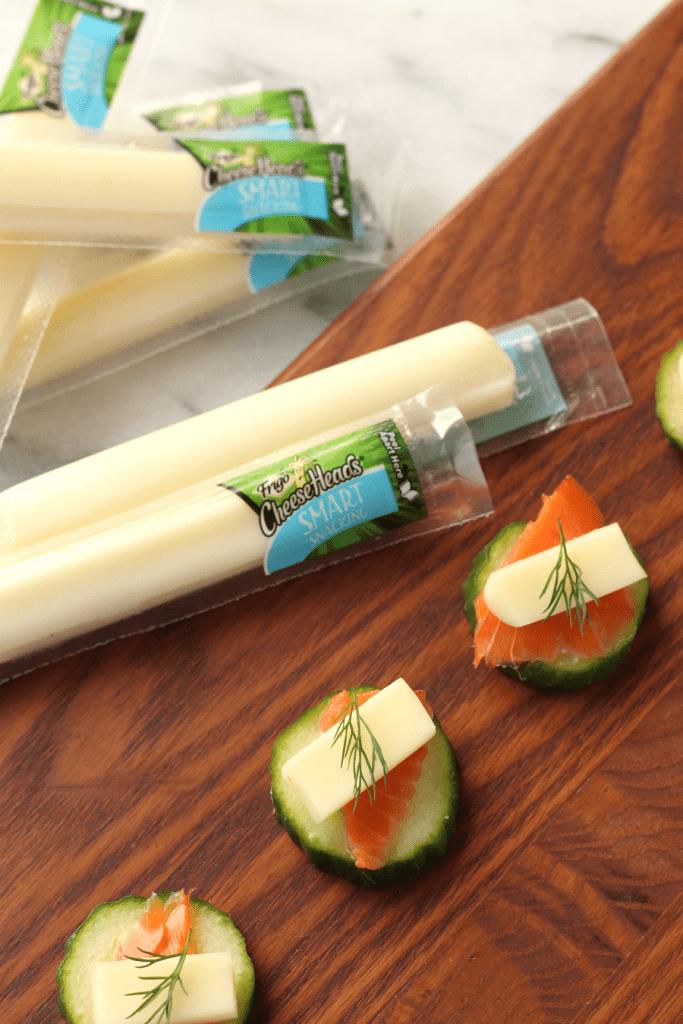 String cheese appetizers for adults