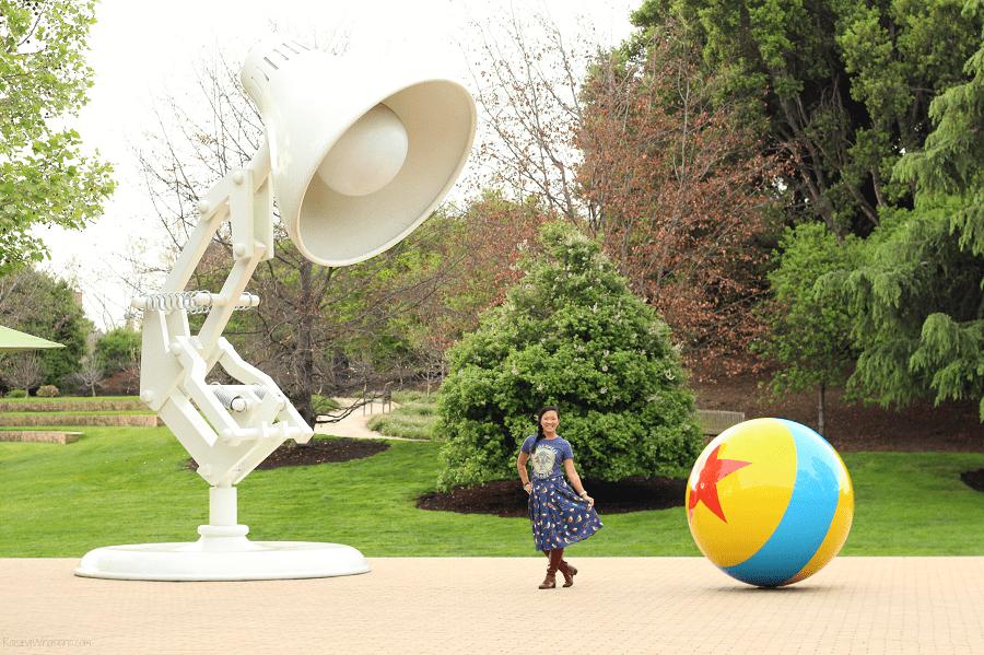 Visiting Pixar studios