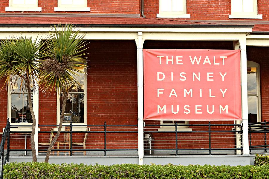 Walt Disney family museum store