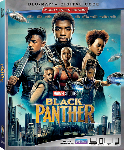 Black panther blu ray bonus features