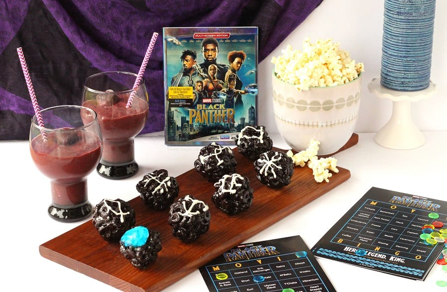 Black panther family movie night