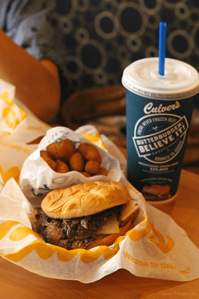 Culver's burger deal