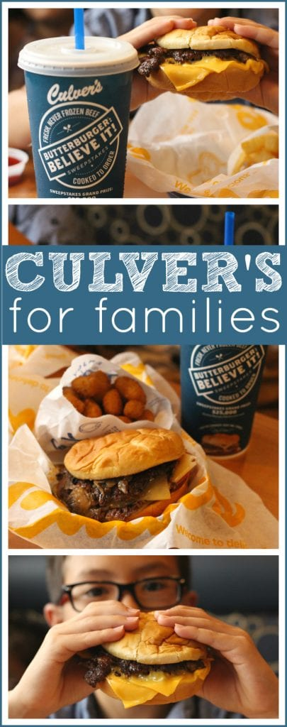 Culver's for families