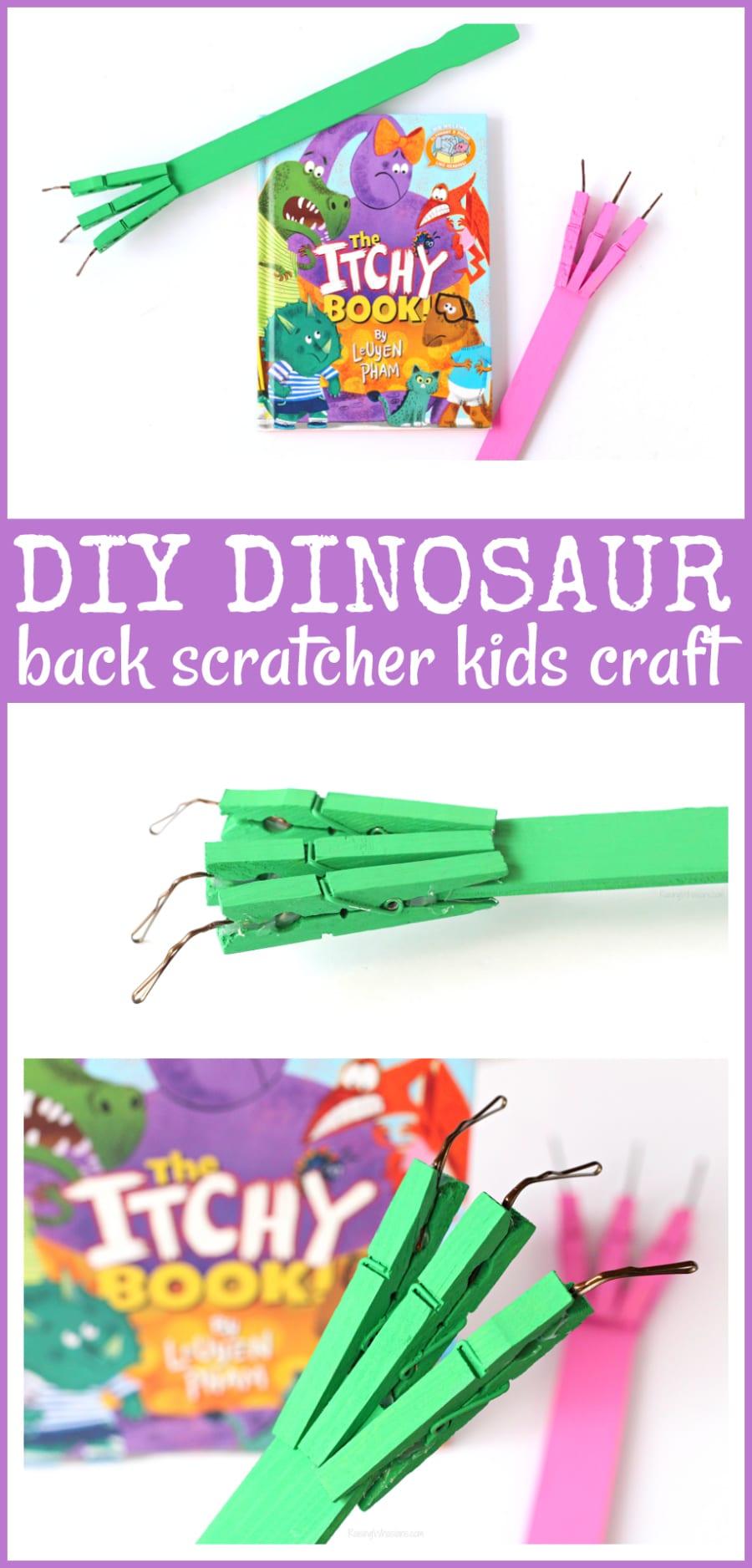 Dinosaur kids craft easy