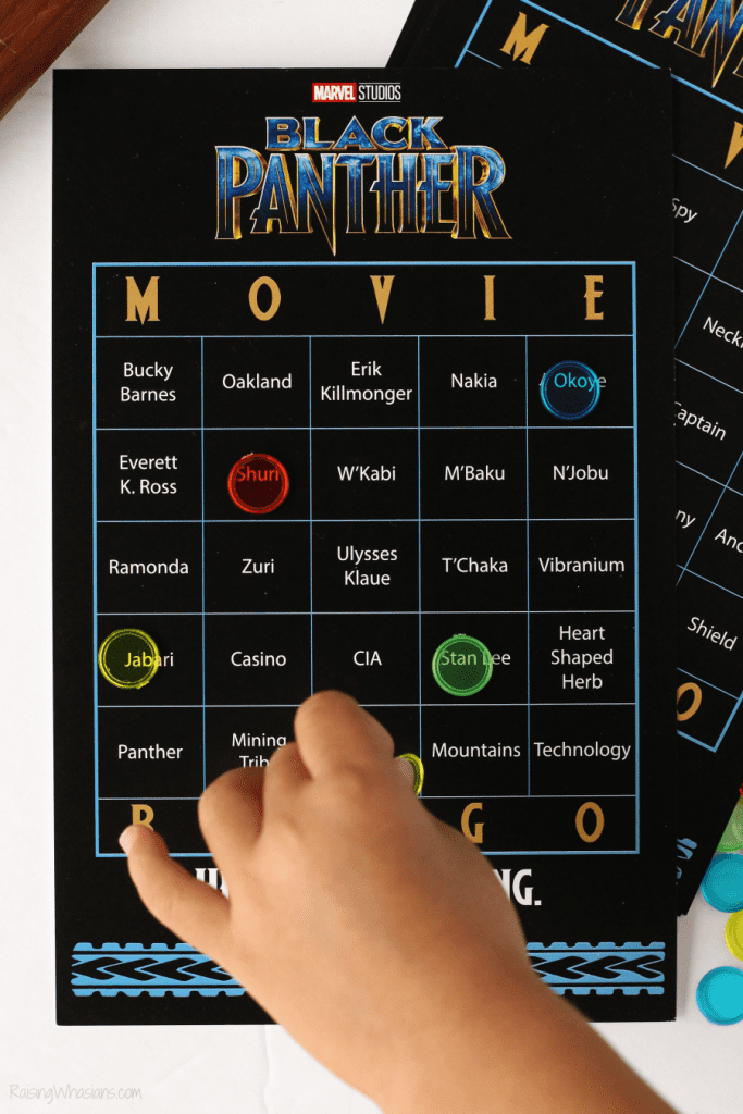Free black panther game printable