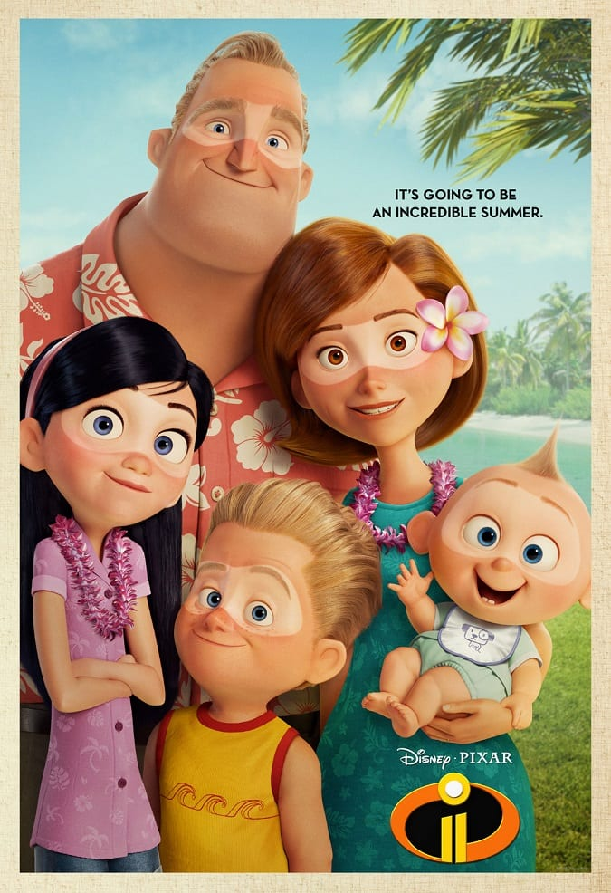 Incredibles 2 advanced tickets offer