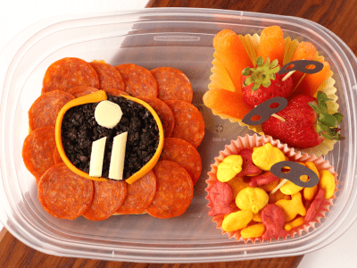 Incredibles 2 bento box idea