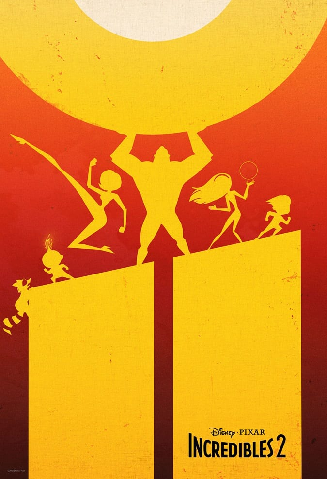 Incredibles 2 ticket offer