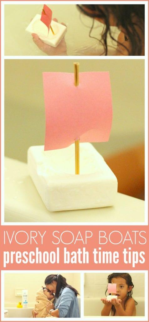 Ivory soap boat