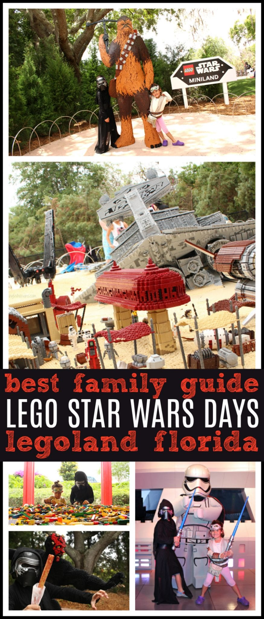 Lego star wars days guide