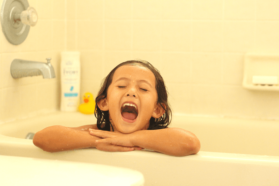 Preschool bath time tips
