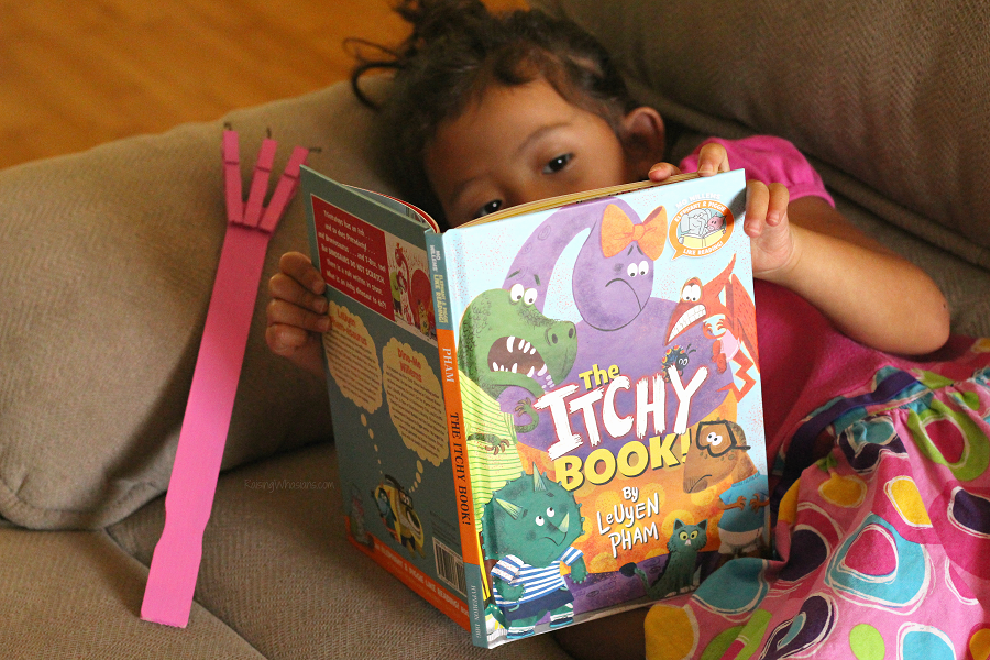 The itchy book kids craft