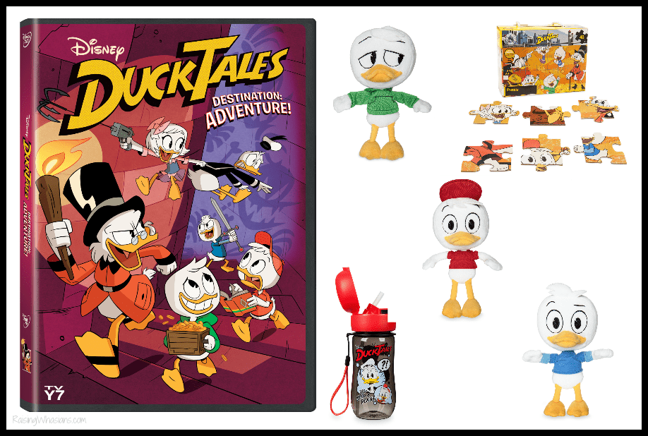 DuckTales destination adventure dvd prize pack