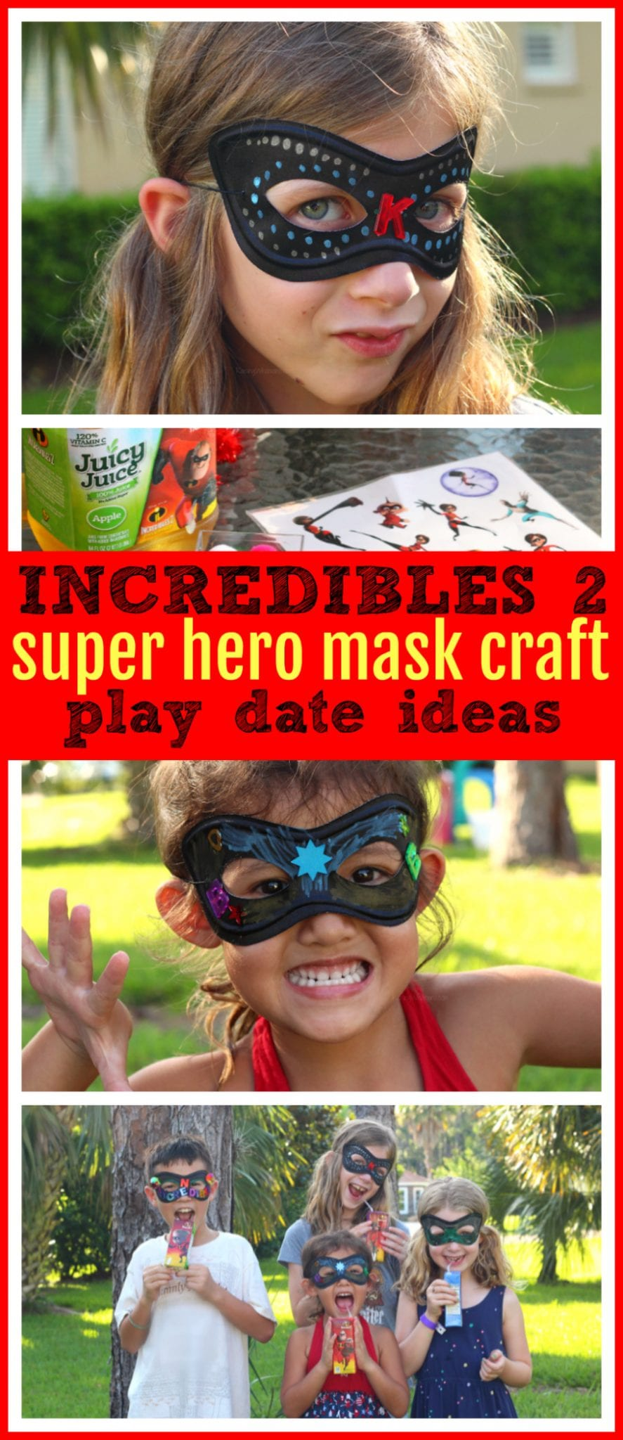 Easy Incredibles 2 craft for kids