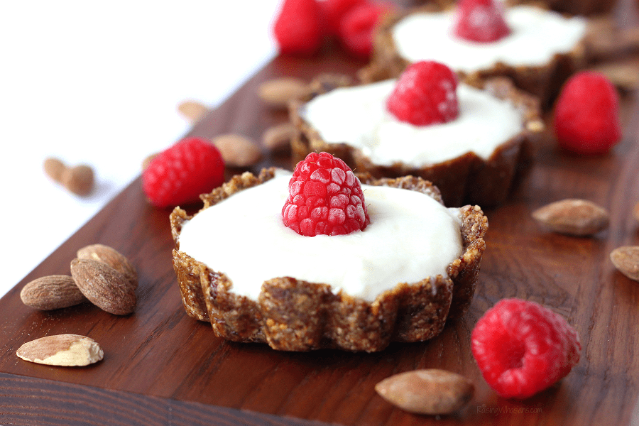 Easy yogurt tarts