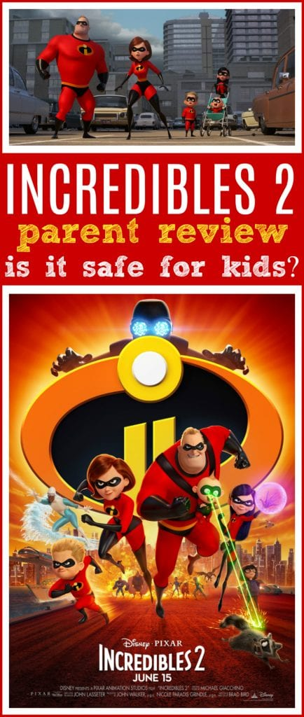 Incredibles 2 review for kids