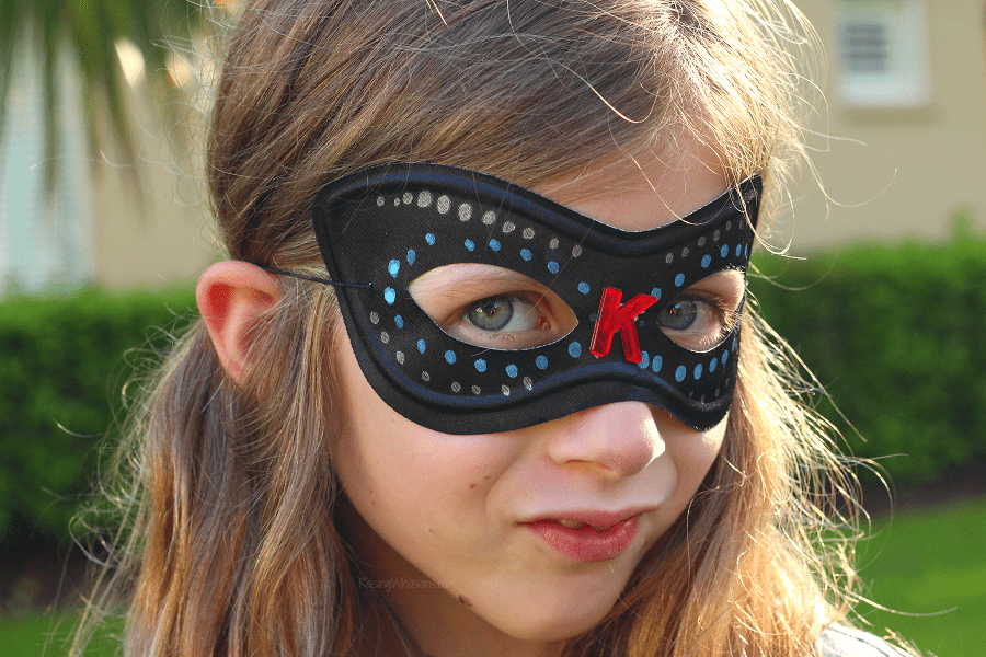 Incredibles 2 super hero mask craft