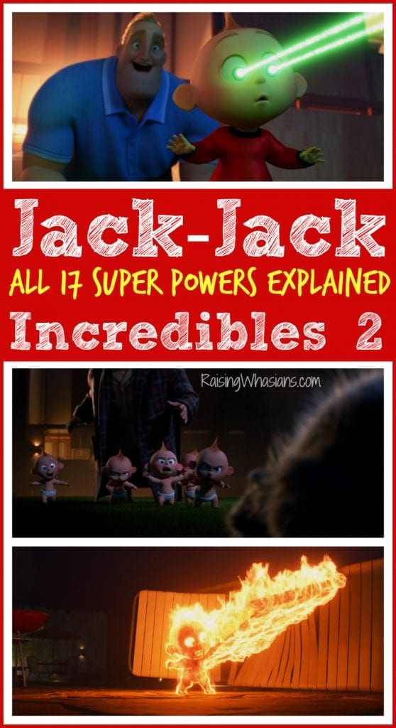 Jack-Jack super powers explained